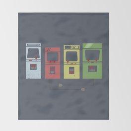 Arcade Machines Throw Blanket