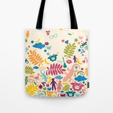 Colorful Paradise Tote Bag