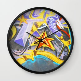 M is for ME Wall Clock