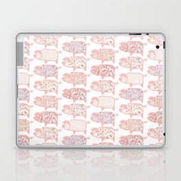 Pig Terrazzo Laptop & iPad Skin