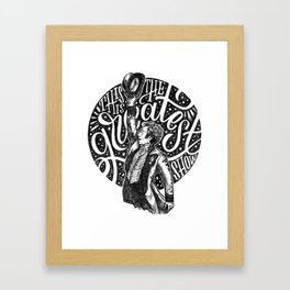 The Greatest Show Framed Art Print