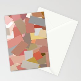 Coral Blocks 5050 Stationery Cards