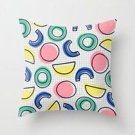 Minimal Memphis Throw Pillow