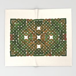 Celtic Forest Throw Blanket