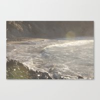 salt water Canvas Prints featuring Salt Water  by Shine