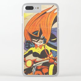 Batwoman Clear iPhone Case