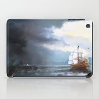 ship iPad Cases featuring Ship by Stefuta