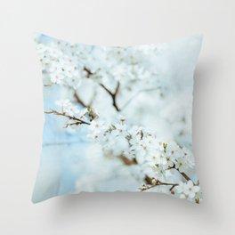 Floral VI Throw Pillow