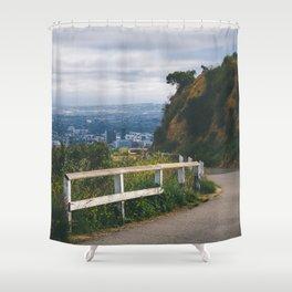 Lost City Boy Shower Curtain