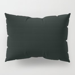 Icy Thunder ~ Inky Teal Pillow Sham