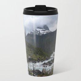Mountains in Banff Travel Mug