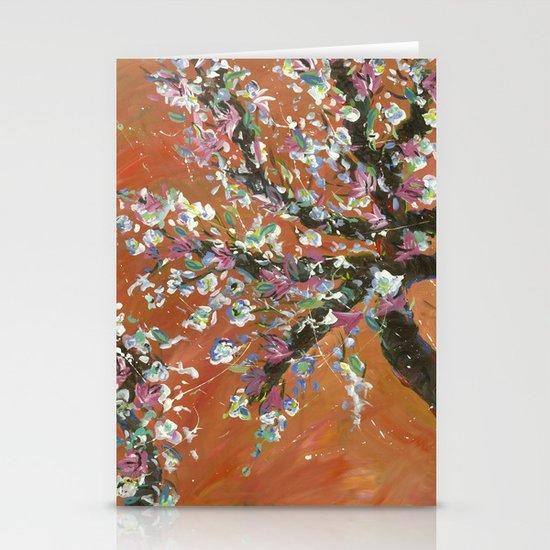 Cherry Tree Stationery Cards