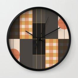 Rectilinear Wall Clock