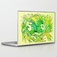 pisces Laptop & iPad Skins featuring pisces by Steven Toang