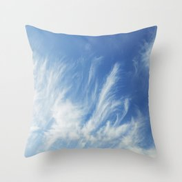 Cirrus Clouds 1 Throw Pillow