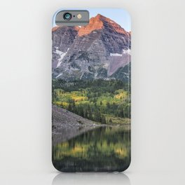 Sunrise at Maroon Bells, No. 2 iPhone Case