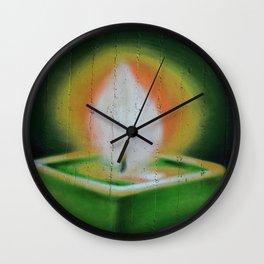 Graffiti Candlelight Wall Clock