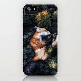 nature hugs. iPhone Case
