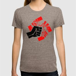 Obliterate Hate (black & red) T-shirt