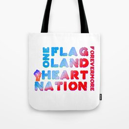 4th of July Quote Tote Bag