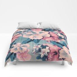 Vintage Nui Loa Hibiscus Comforters