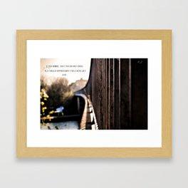 [r]omantico Framed Art Print