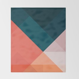 Geometric 1708 Throw Blanket