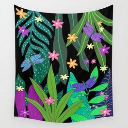 Fantasy Botanical #13 Wall Tapestry