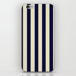 Navy Stripes iPhone Skin