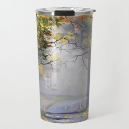 Misty Autumn Mt Wilson Travel Mug