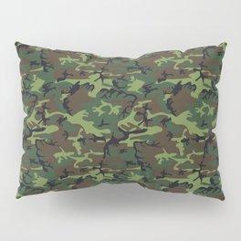 U.S. Woodland Camo Pillow Sham