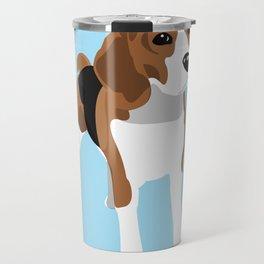 Beagle - Blue Travel Mug