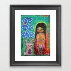 Gift Exchange Framed Art Print