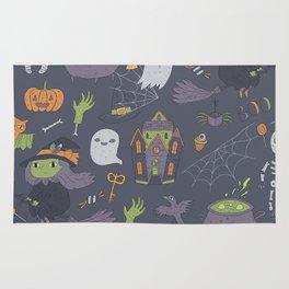 Cute Happy Halloween Rug