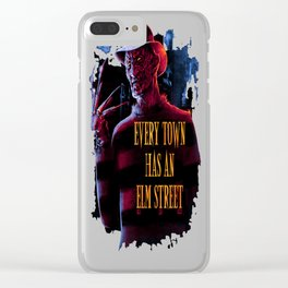 Every Town Has An Elm Street! Clear iPhone Case