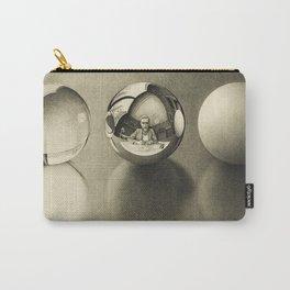 Escher - Three Spheres II Carry-All Pouch
