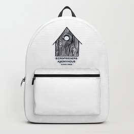 Birdfeeders Anonymous / Bird Lovers Backpack