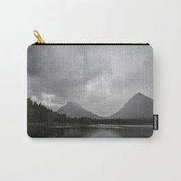 Landscape Montana Lake and Mountains Carry-All Pouch