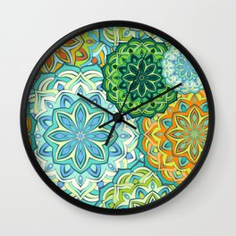 Lovely mandala Wall Clock