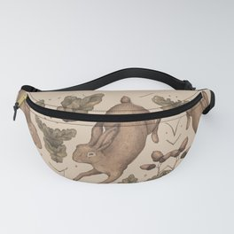 The Hare and Oak Fanny Pack