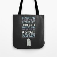 motivational Tote Bags featuring Motivational Speaker by Teo Zirinis
