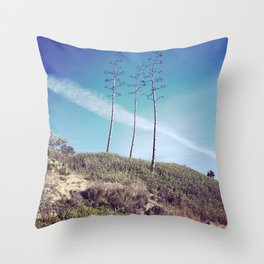 San Clemente Trees Throw Pillow