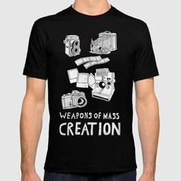 Weapons Of Mass Creation - Photography (white) T-shirt