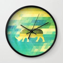 Orion Rhino Wall Clock