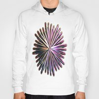the wire Hoodies featuring Wire Circle by Brian Raggatt