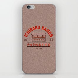 Ichiraku Ramen iPhone Skin