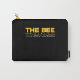 The Bee Whisperer Beekeepers Beekeeping Carry-All Pouch