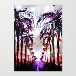 Spring Festival Nights Canvas Print