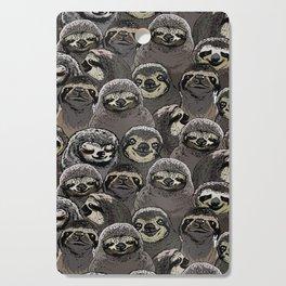 Social Sloths Cutting Board