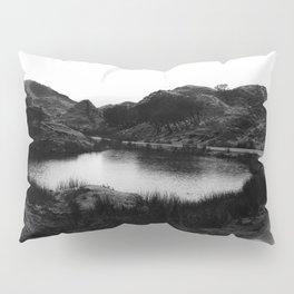 Fairy Glen, Isle of Skye, B/W Pillow Sham
